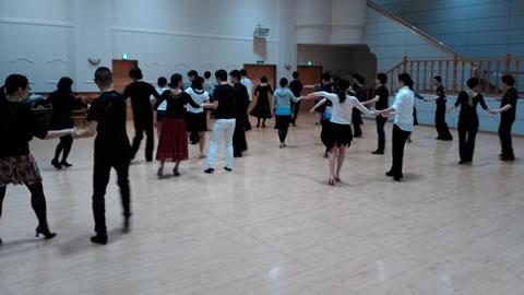 昌平童夢館2F多目的ホール CDC社交ダンスサークル