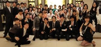 2014年3月ご結婚披露宴二次会にて