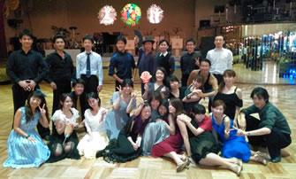 2015年7月ダンスホール新世紀にて