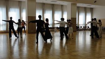 2015年10月午前中の社交ダンス講習会