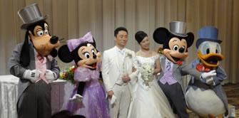 2015年10月ご結婚披露宴にて