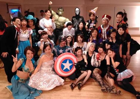 2014年10月ハロウィン・ダンス・ナイト