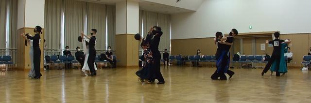 2021年8月第29回練習着10ダンス競技会