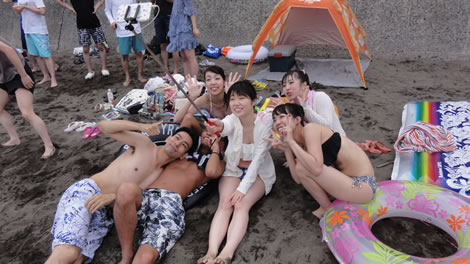 2016年7月CDC伊豆ビーチ花火大会ツアー