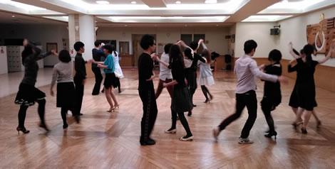 社交ダンス若者初心者講習会