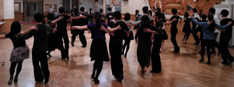 CDC東京週末版若者社交ダンスサークル